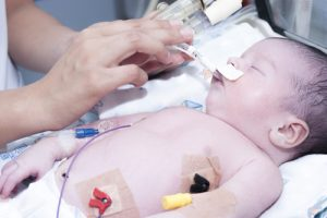 neonatal breathing issues