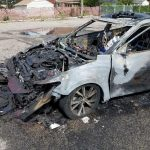 Burned Car Exploded Samsung Cell Phone