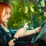 texting while driving auto accident