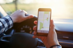 navigation app michigan car accident distracted driving